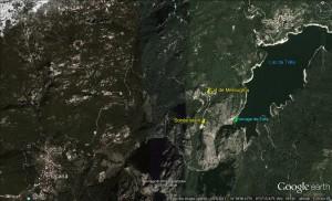 Google Earth localistion Tolla 2016