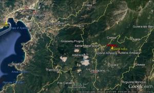 AMPAZA Localisation générale
