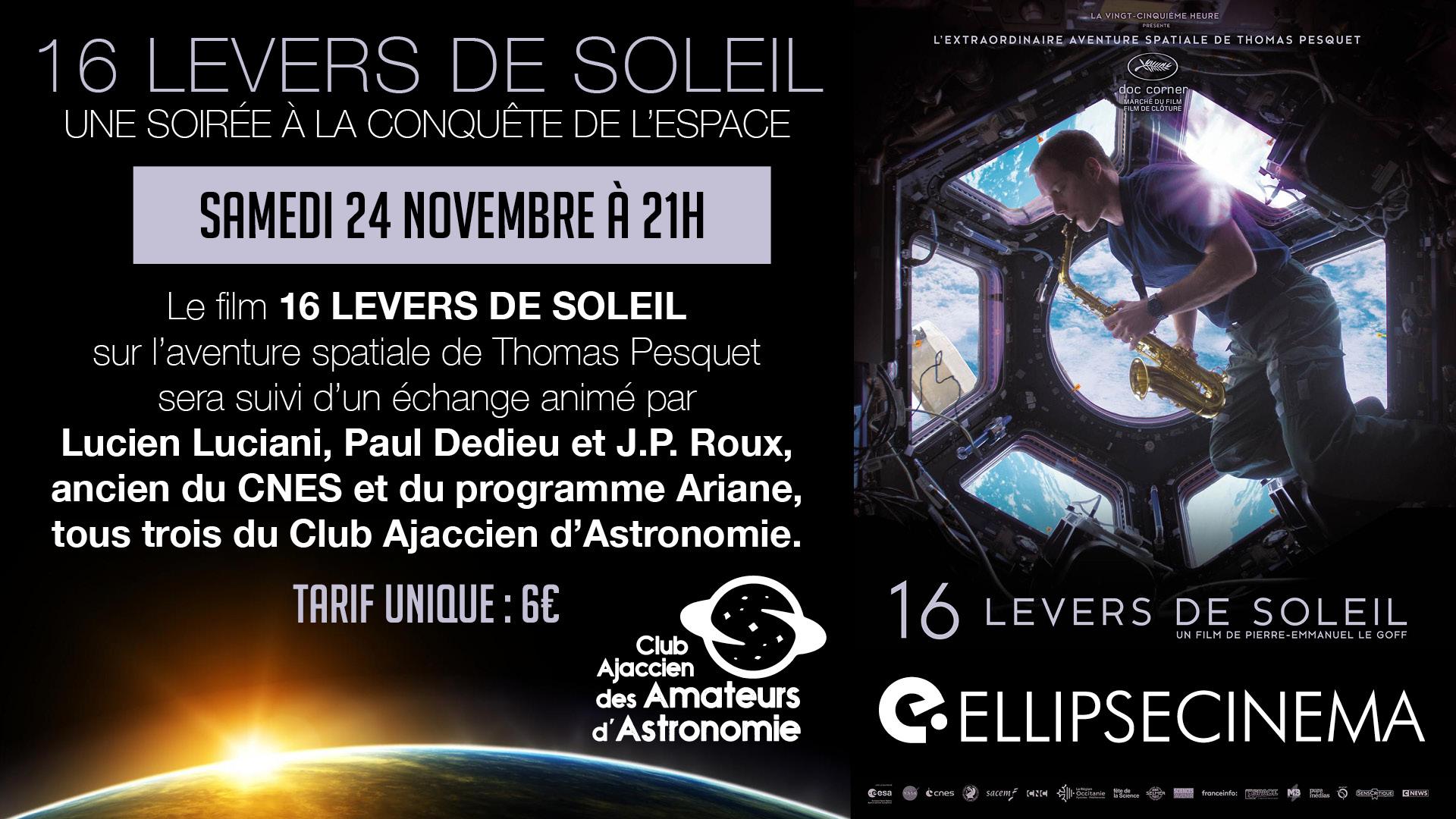 flyer cinéma Ellipse