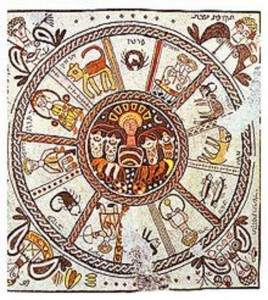 mozaique calendrier hébraïque - Copie