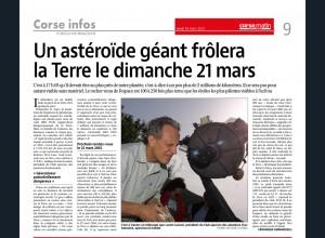 Corsica infurmazione 18.03.21
